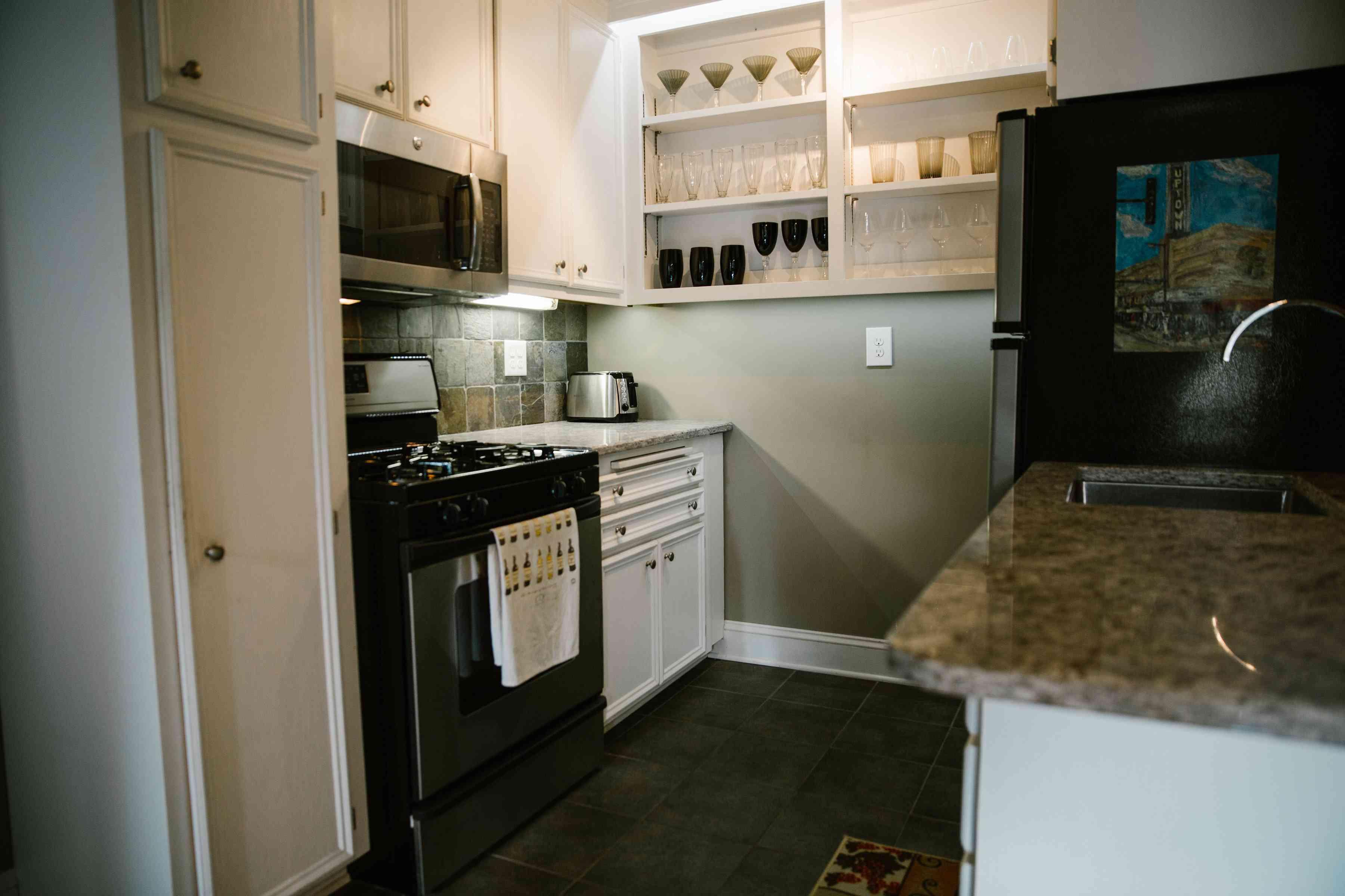 Condo Rental Kitchen
